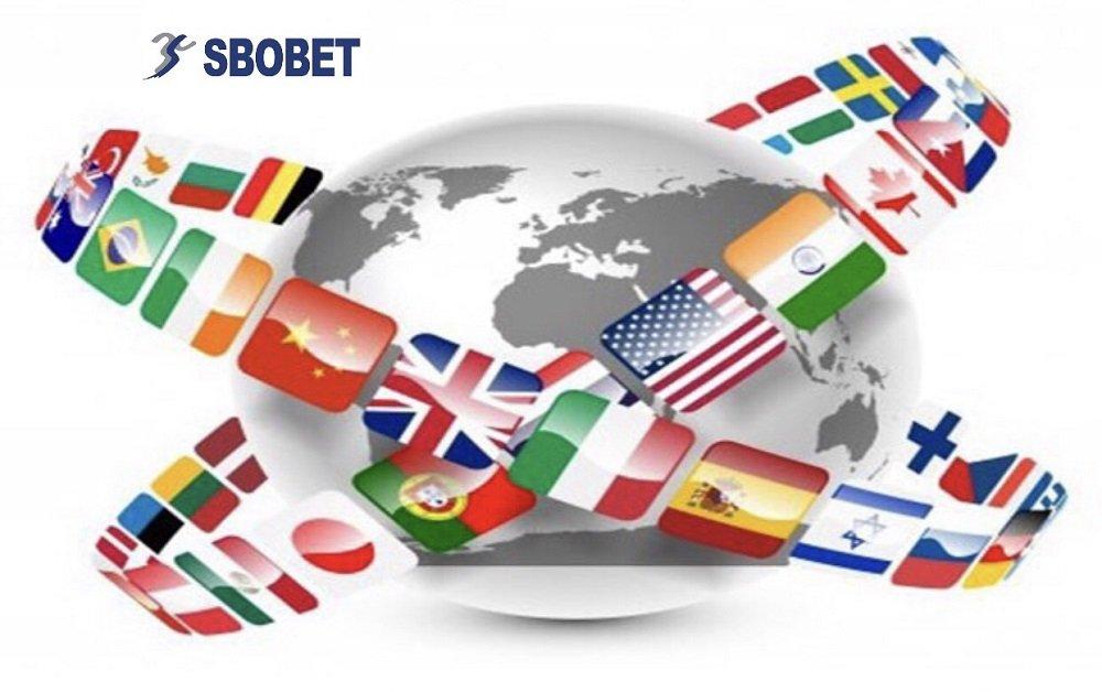 SBOBET hỗ trợ đa ngôn ngữ